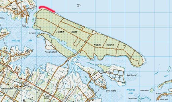 Rabbit Island Surfcasting Waimea Estuary Richmond