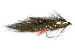 Black rabbit trout night lure featured