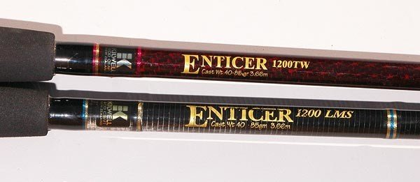 Kilwell Enticer rods.
