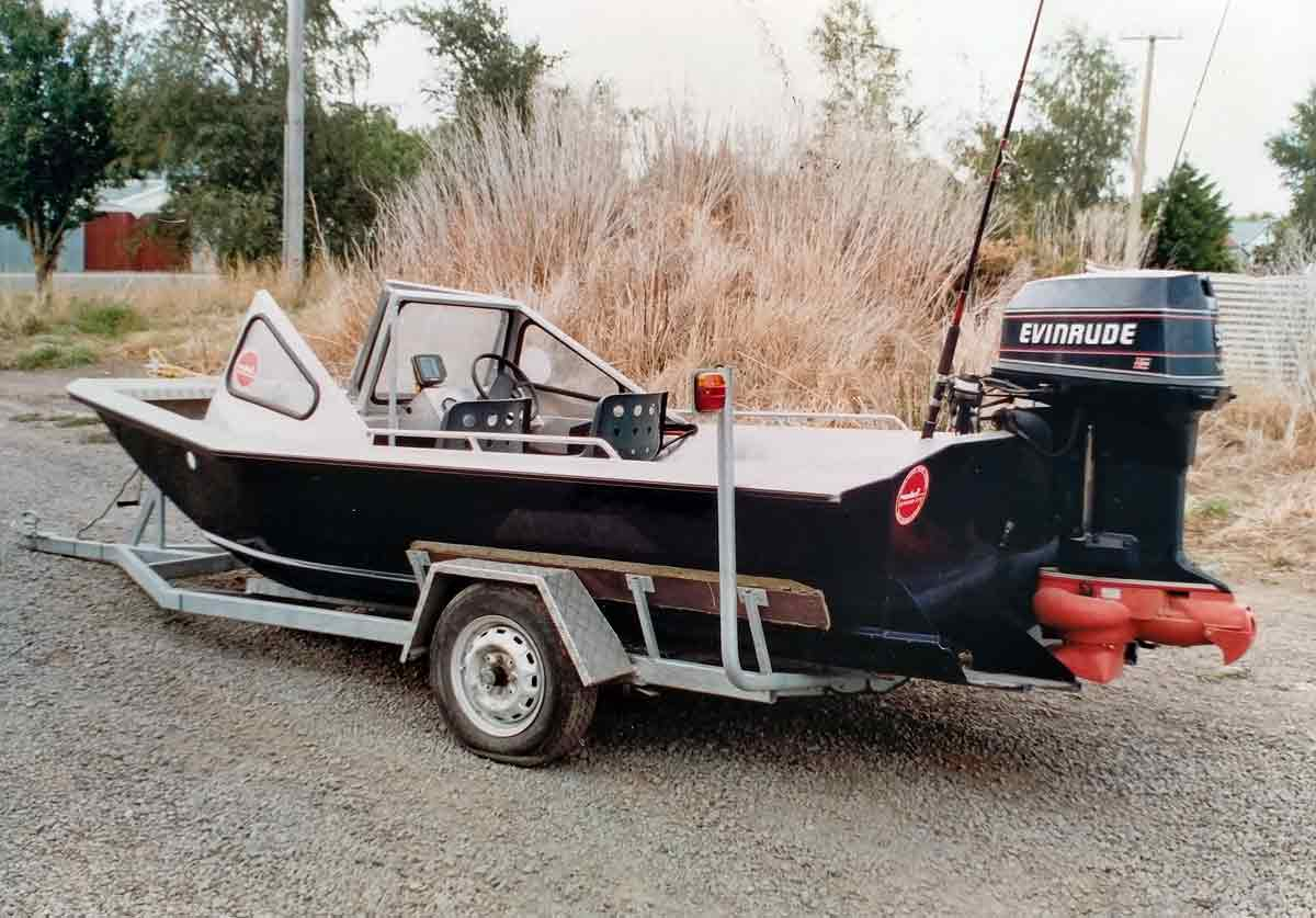 The Wooldridge Jet Boat offers practicality, durability, and rugged construction.