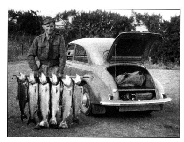 A super weekend's fishing. March 1955.