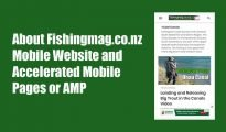 Fishingmag.co.nz Mobile Website featured image.