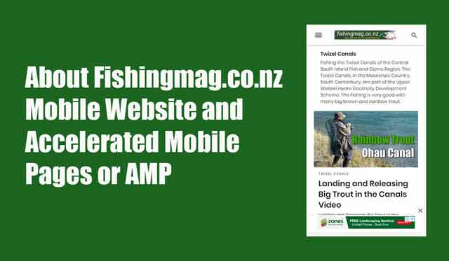 Fishingmag.co.nz Mobile Website