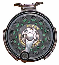 Alvey saltwater fly reel.