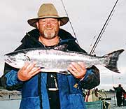 Harrison salmon rod.