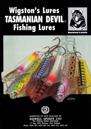 Tasmanian Devil Trout Lures Brochure pdf.