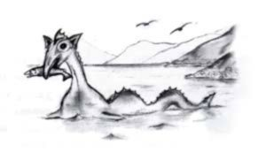 The Lake Coleridge Monster.