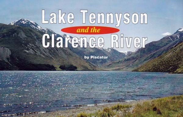 Lake Tennyson and the Clarence River.