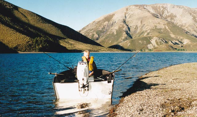 Trout Fishing With Downriggers