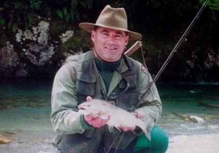 Hokitika Holiday Trout Fishing