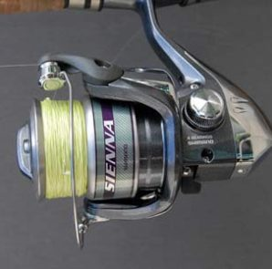 Shimano Sienna 2500FD spin fishing reel