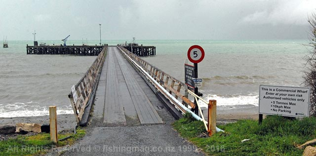 The Jackson Bay wharf was built in 1937. It is the only natural deepwater wharf on the West Coast.