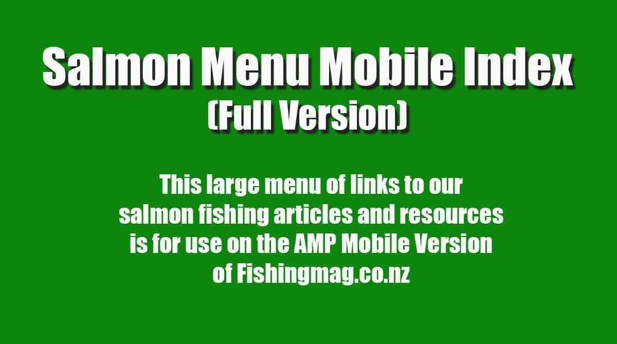 Salmon Fishing Menu Mobile Index.