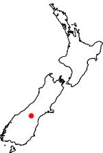 Location of sockeye salmon in Waitaki River catchment.