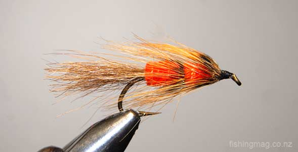 Red Setter Trout Lure. Featured image.