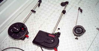 Three models from the Scotty downrigger range. Featured image.