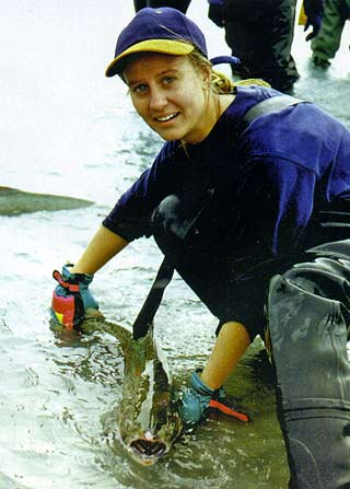 Shiree Cunliffe of Ashburton was one of the rescuers.