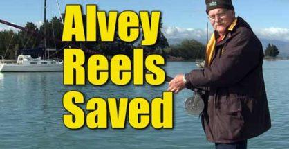 Alvey Reels Saved
