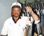 Bill Hamilton - Otago Harbour Salmon Fishing Competition.