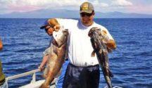 Fishing Foveaux Strait.