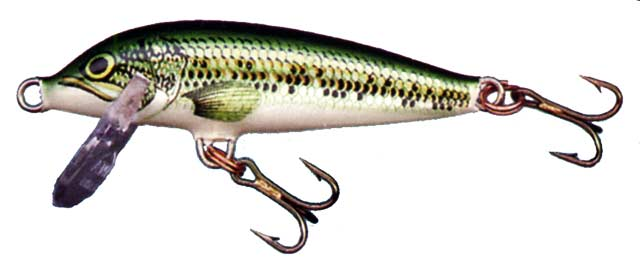 Rapala Countdown CD5 (5cm in length). Trout Fishing With Rapala Minnows