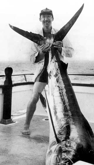 Neil's and his striped marlin.