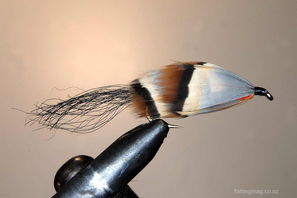 Orange Witch Trout Lure