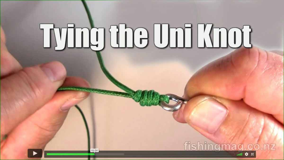Tying the Uni Knot.