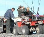 Salmon Fishers at the Rakaia River. Featured image.