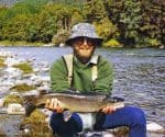 Gray Prebble with his sleek five and a half pounder.