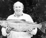 Monty Wright and his 12.5lb salmon from the Clutha River near Millers Flat.