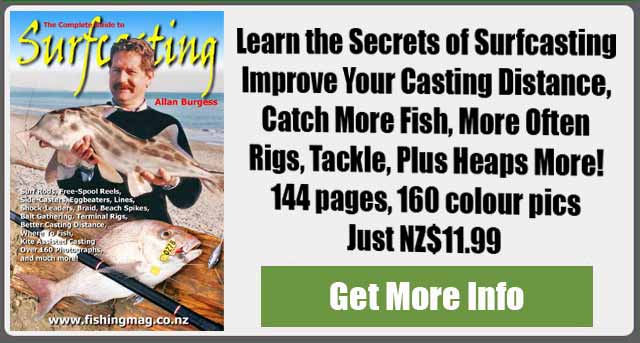 The Complete Guide to Surfcasting by Allan Burgess
