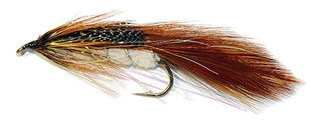 The Brunton No.1 is an old Canterbury pattern originally created by Lou Brunton as a sea-run brown trout lure.