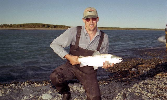 Another good sea-run brownie from the Rakaia River gut.