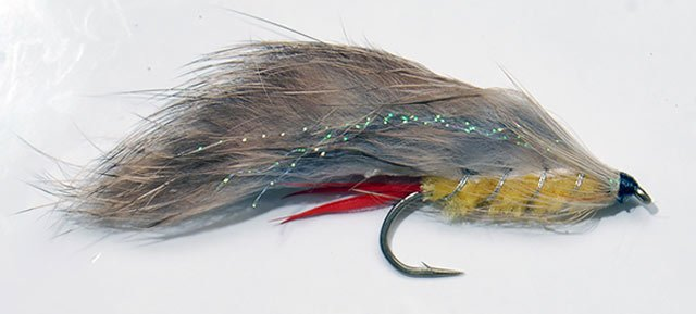 The Yellow Rabbit is still my favourite lure for sea-run brown trout fishing.
