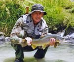 Last Day Brown Trout Lessons by Gary Busch