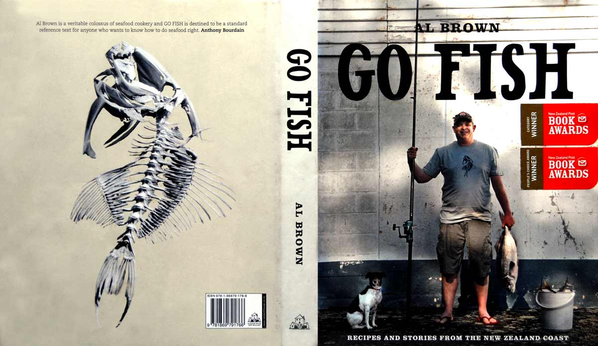 Al Brown Go Fish - Recipes and Stories from the New Zealand Coast