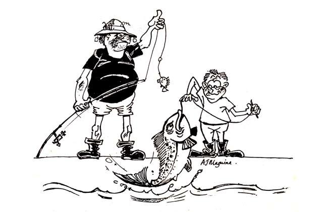 Taking KIds Fishing.