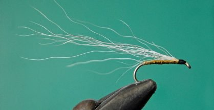 Whitebait Streamer Fly.