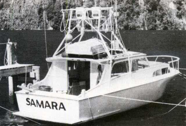 Samara. Fiordland Game Fishing Club.