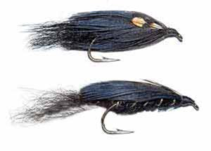 Black Phantom (top: killer style and below wing on top - old style tie). It is also one of the easiest feathered lures to tie making it a great place to start for the novice.
