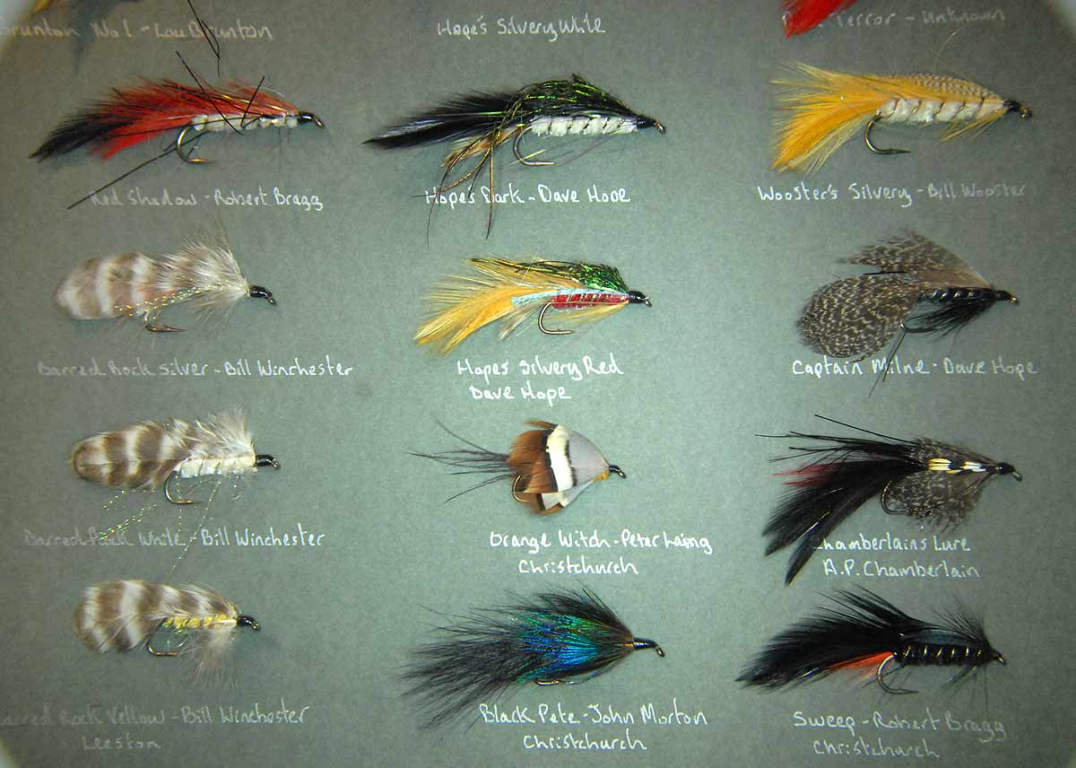I think having the names of each fly included is important.