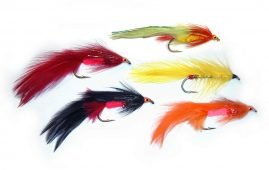 Salmon Flies and Sea-Run Trout Flies - 14 Patterns for Kiwi Fly Tyers.