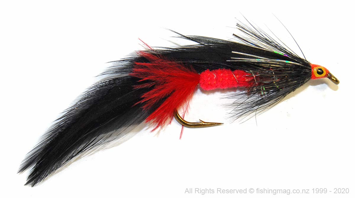 Won Eye salmon and trout lure by Tight Lines, Napier, N.Z. Salmon Flies.