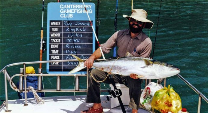 French Pass Memories – Here Be Dragons! Fishing for Kingfish