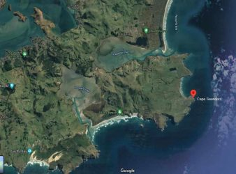 Cape Saunders from Google Maps - See link below.